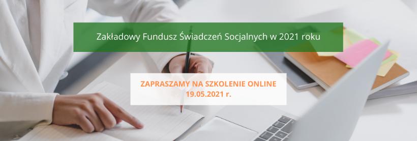 szkolenie z Andrzejem Ponczkiem, szkolenie zfśs, zakładowy fundusz świadczeń socjalnych, szkolenie online z zakładowego funduszu świadczeń socjalnych
