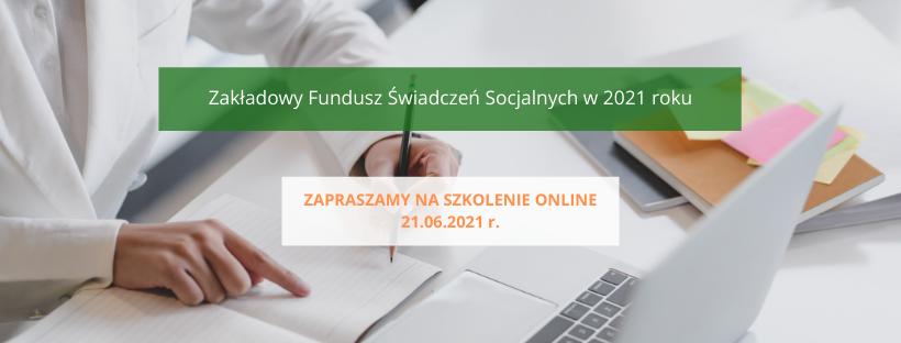 szkolenie zfśs, szkolenie z zakładowego funduszu świadczeń socjalnych, szkolenie online fundusz socjalny, Andrzej Ponczek, szkolenie z Ponczkiem